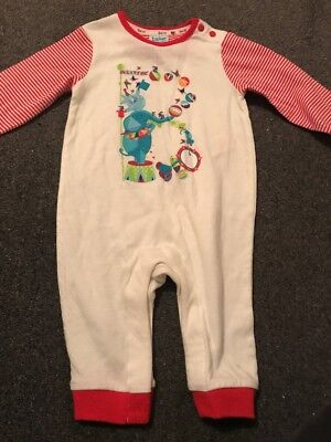 Ted Baker 3-6 Months Long Sleeved Sleepsuit