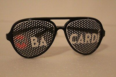 Bacardi sunglasses promo- Very cool and different. look!