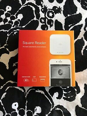 Square Contactless Chip Reader- Also W Traditional Headphone Jack Magstripe!