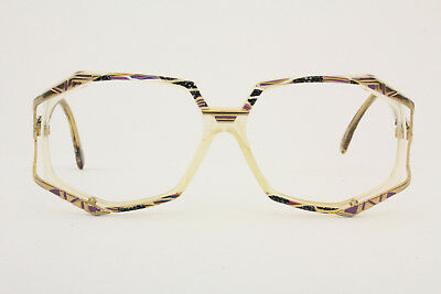 Vintage CAZAL 355 eye/sunglasses Frame Made in Germany Size 55-15 130