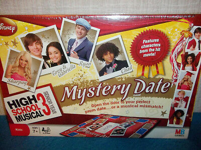 High School Musical 3, Senior Year - Mystery Date Board Game - New & Sealed