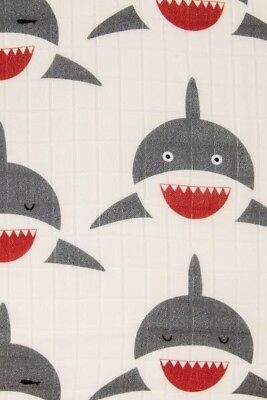 Tula Chomp shark Cuddle me adult Blanket New in Bag Sold Out