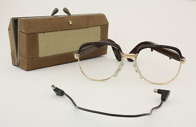 Vintage DANAVOX eye/sunglasses with case Frame Made in Denmark Size 50-16 140