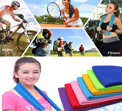 Super Instant Cooling Towel Cold Golf Cycling Jogging Gym Sports Outdoor