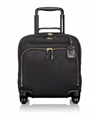 NEW TUMI VOYAGEUR OSLO 4-WHEEL COMPACT CARRY-ON MSRP$495 Style 0484662D