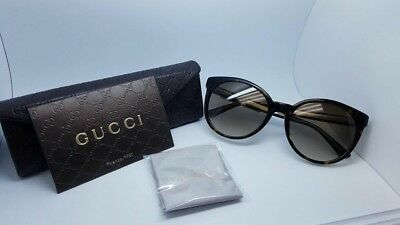 New Gucci Sunglasses Women GG 3820/584166 - Black Frame with Gold temple