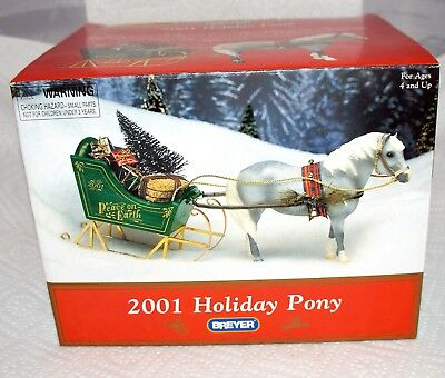 Breyer Horse 2001 Jingles Holiday Pony - in Box Very Excellent -