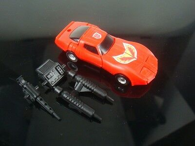 World Smallest Transformers WST TRACKS Ver complete Red
