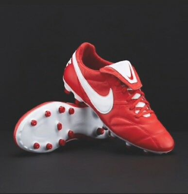 Nike Premier2-0 FG University Red/WHIT NEW MODEL football boots STOCK CLEARANCE