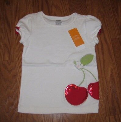 NWT Gymboree Toddler Girl Shirt Top Cherry 3T NEW