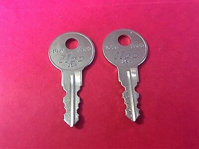 A.R.E Truck Cap Keys Codes 1 thru 20 /& X0001 thru X0020 ARE Topper Lock Key