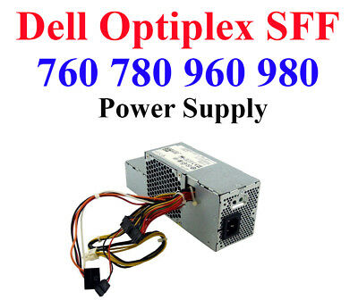Dell Optiplex SFF Power Supply PSU for 760 960 780 980 Small For Factor