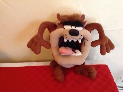 Stuffed animal-Loony Toones,Tazmania Devil 13""