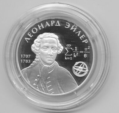 2007 Russia 2 R Silver Proof Eiler