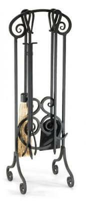 Pilgrim Home and Hearth 19003 Napa Forge Antique Scroll Fireplace Tool Set,...