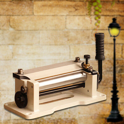 Leather Splitter Manual Skiver Peeler Leather Paring Peeling Machine 800p. Pop