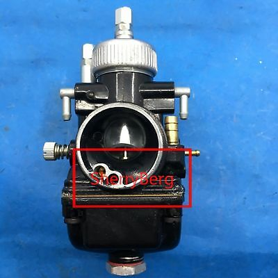 new replacement OEM from Dellorto PHBG DS Black 17mm Racing Carburetor Carb