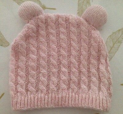 Cotton On Baby Girls Knit Beanie One Size