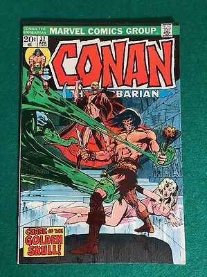 Conan the Barbarian #37 Neal Adams Artwork High Grade VF/NM. MVS intact!