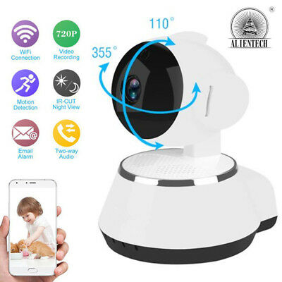 Wireless HD 720P Pan Tilt Network Security IP Camera Night Vision WiFi Webcam