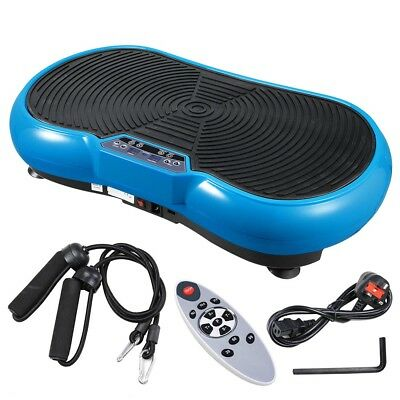 Crazy Fitness Machine Massage Vibration Plate Exercise Trainer Home Gym INCD VAT