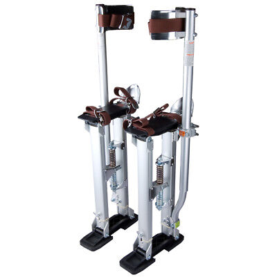 "Aluminum Drywall Stilts Tool Painting Painter Taping Adjustable 24-40"" INCD VAT"