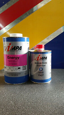 Impa ENERGY 2K Medium Solids Lacquer Clearcoat 1.5Lt Kit