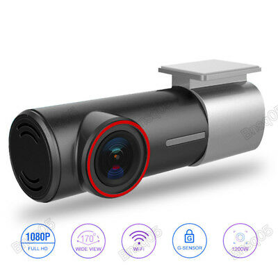 HD 1080P Wifi Auto Kamera DVR Video Dashcam Recorder F1.8 Nachtsicht G-Sensor