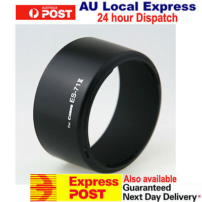ES-71II ES-71 II Lens Hood For Canon EF 50mm F1.4 USM OZ Seller