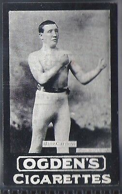 Ogdens Tabs-Series A Boxing Card-#a082- Jim Carney