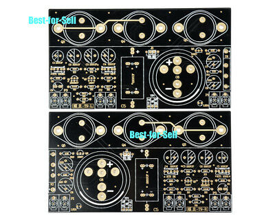 2pcs JLH 1969 class A amplifier amp stereo high quality bare PCB 10W DIY audio