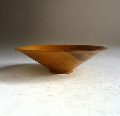 KEVIN HUTSON Finely Turned Wooden BOWL 15cm British Woodturner.