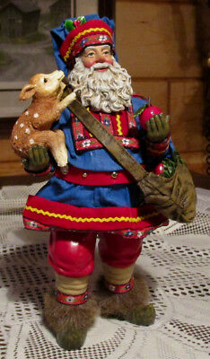 "1998 Clothtique Possible Dreams Santa Claus - ""Visitor From The North"" - #713170"