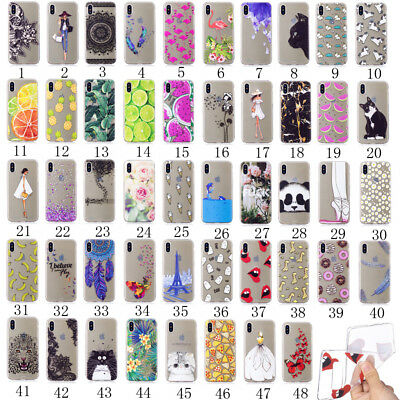 Slim Clear Soft Silicone TPU Rubber Back Case Cover For Samsung J320 J520 J720