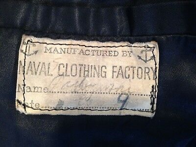 Authentic Vintage Navy Pea Coat -Great Condition!
