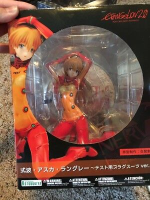 Evangelion Asuka Langley Test Version Action Figure Statue