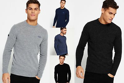 New Mens Superdry Knitwear Selection 1812