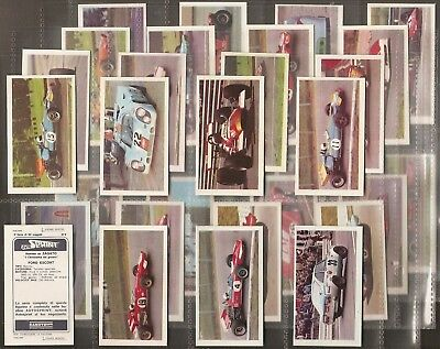 Candy Gum (Italy)-Full Set- Autosprint Ii Serie (Printed Back 30 Cards) - Exc