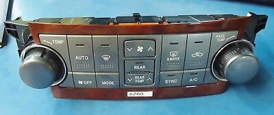 Toyota Highlander New Oem Temp. Control 55900-0E260