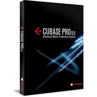 Steinberg Cubase Pro 9.5 Music Production/Recording DAW Software (Boxed)