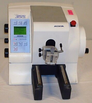 Microm HM 355 S-2 Automated Motorized Rotary Microtome