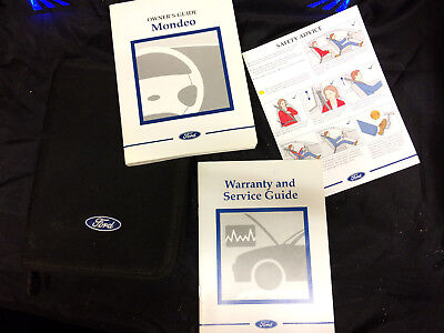 ford mondeo 2001 owner manual