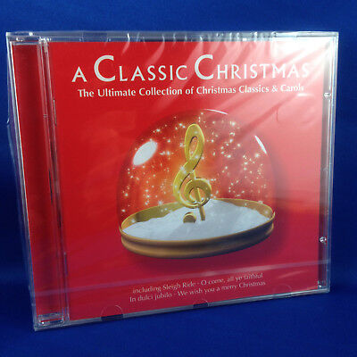 VA: A Classic Christmas (EXTREMELY RARE 2001 UK IMPORT CD BRAND NEW 5572562)