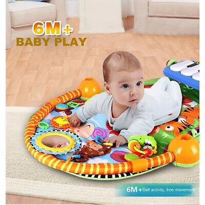 Grow With Me Baby Activity Mat Play Mat Baby Piano Mat