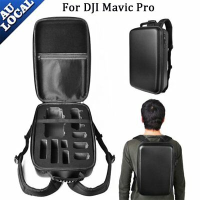 Waterproof Hard Carry Case Backpack Storage Bag for DJI Mavic Pro Drone RC481 AU
