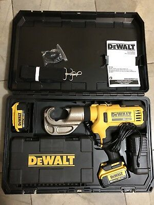 DEWALT DCE300M2 20V MAX* Died Electrical Cable Crimping Tool Kit