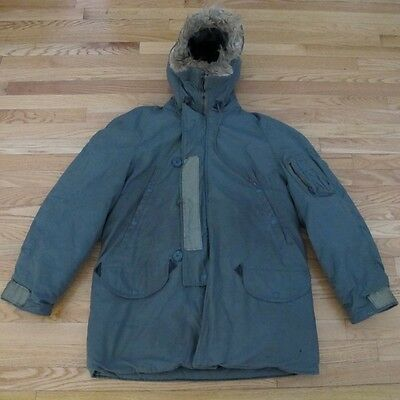 Vintage Original Extreme Cold Weather Synthetic Fur N-3B Dated 1974 Size Medium