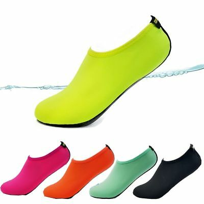 Skin Shoes Water Shoes Aqua Socks Yoga Exercise Pool Beach Swim Slip On Surf A