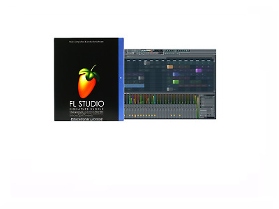 Fl Studio 20 Fruity Loops/ Signature Music Software/edu Pc License Windows 8/10