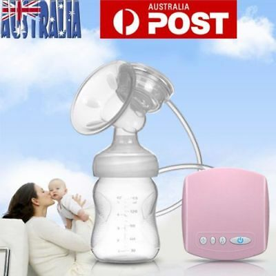 Infant Electric Comfort Breast Pumping Breastpump Feeding Suction Bottle S4